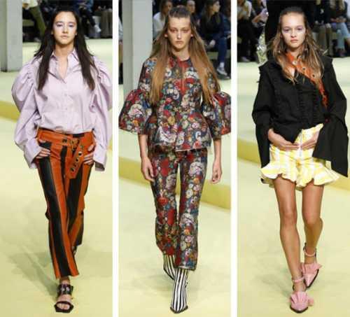 тенденции моды весна